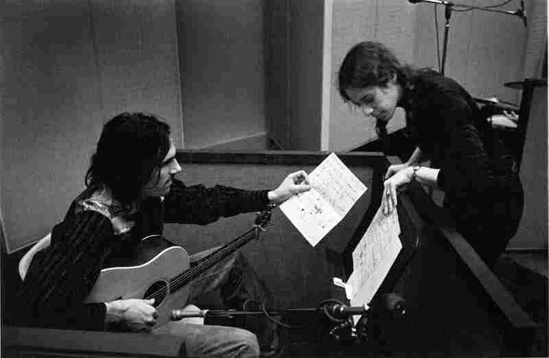 James Taylor and Carole King in 1971