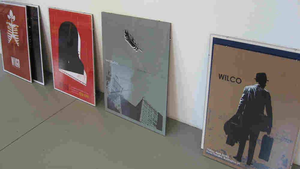 A gallery of Wilco's concert posters will be on display at the Solid Sound Festival.