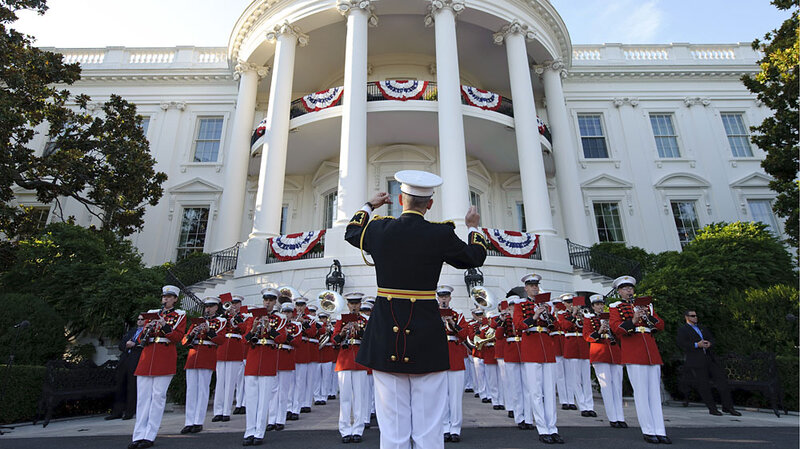 Military Marching Bands: Your Tax Dollars At Work : The