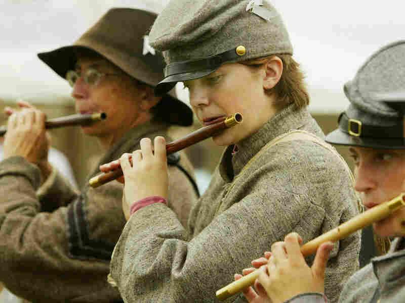 Civil War Reenactors Gather At Gettysburg
