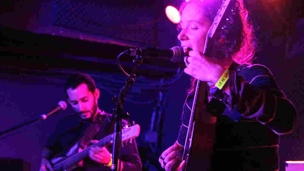 Buke and Gass performs live from the Rock 'n' Roll Hotel in Washington D.C.