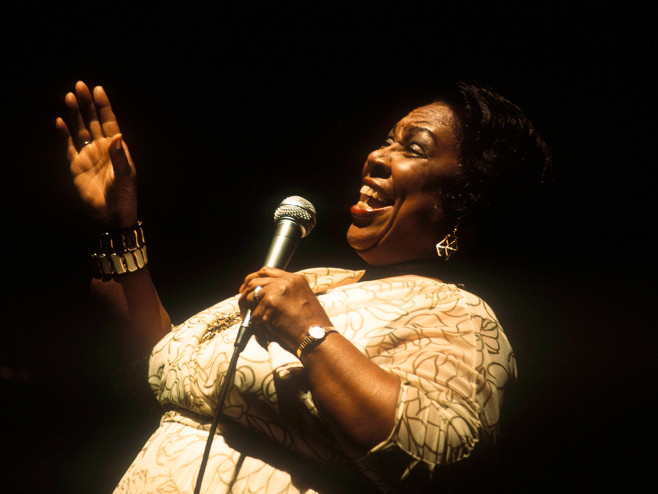 Helen Humes' career led her, variously, through blues, big-band jazz, R&B and even a day job at a Sears department store. (David Redferns/Redferns/Getty Images)