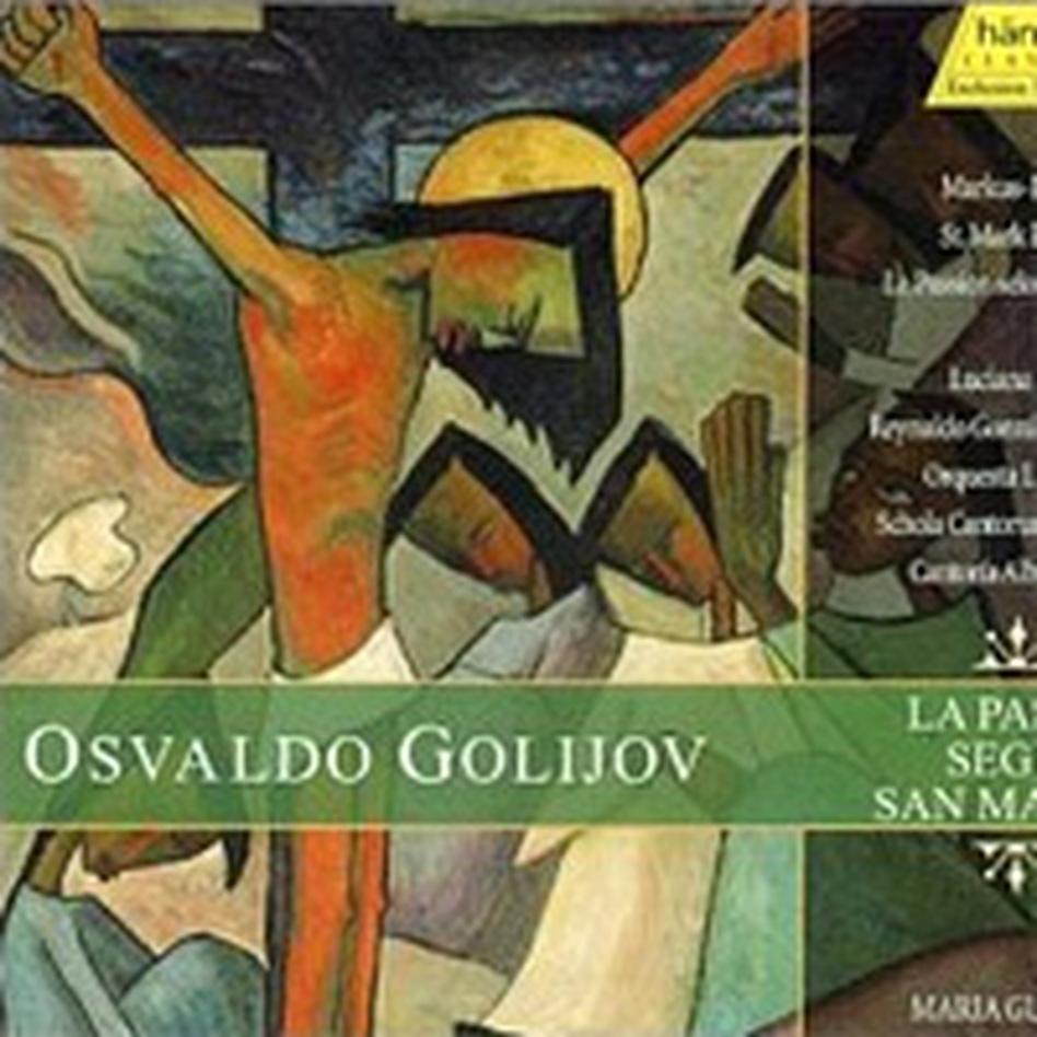 Cover for La Pasion Segun San Marcos (Saint Mark's Passion)