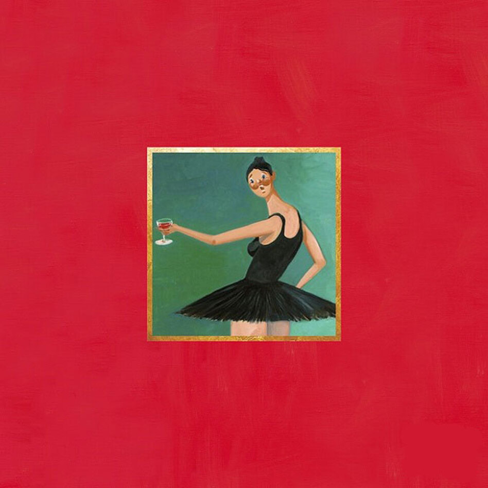 Cover for My Beautiful Dark Twisted Fantasy