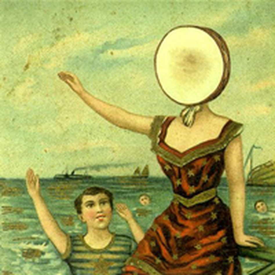 Cover for In the Aeroplane Over the Sea