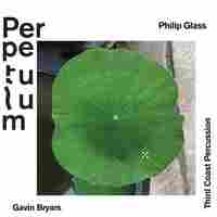 Cover for Perpetulum: Philip Glass, Gavin Bryars, Third Coast Percussion