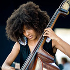 Esperanza Spalding at Newport Jazz