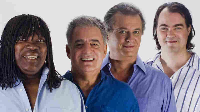 Milton Nascimento and the Jobim Trio.