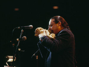 Steve Turre introduced the conch shells to jazz in 1981.
