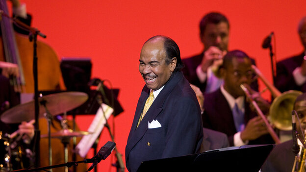 Benny Golson performs at the Kennedy Center's Eisenhower Theater.