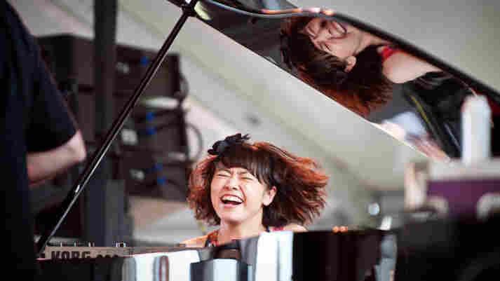 Hiromi performs at Newport Jazz.