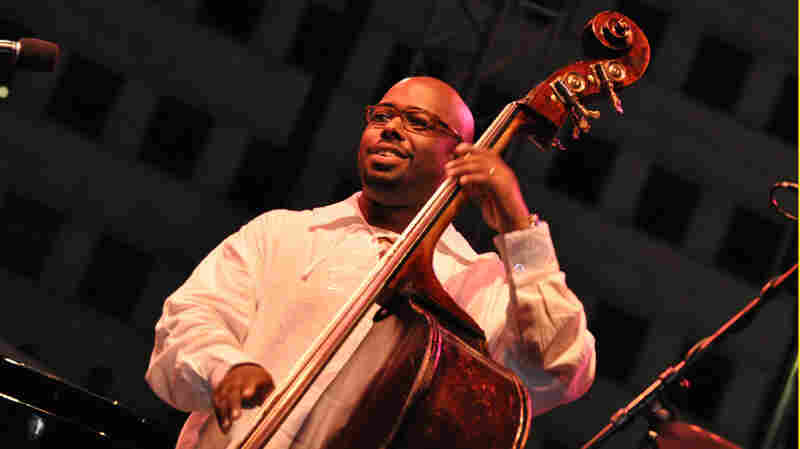 Christian McBride performs at the Detroit International Jazz Festival.