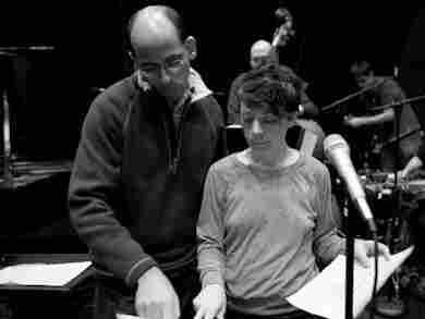 Edward Simon and Gretchen Parlato in rehearsal
