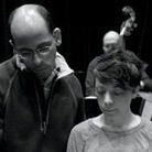 Edward Simon and Gretchen Parlato in rehearsal