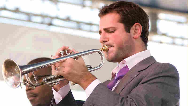Dominick Farinacci leads a trumpet trio at the Detroit Jazz Festival in a tribute Lee Morgan.