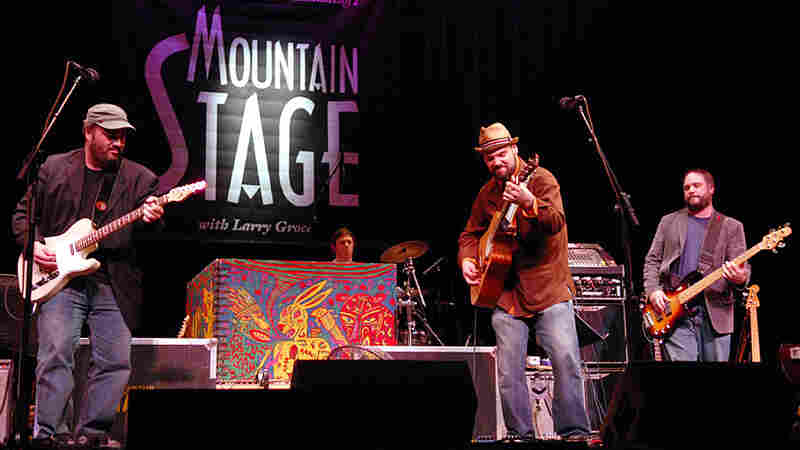 Backyard Tire Fire On Mountain Stage
