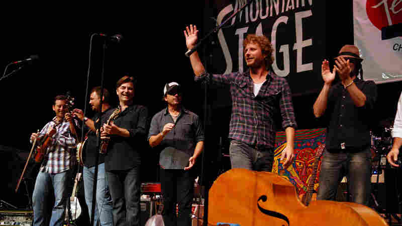 Dierks Bentley On Mountain Stage