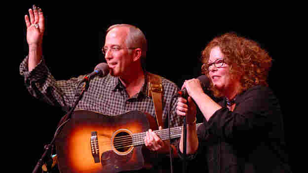 Mollie O'Brien And Rich Moore On Mountain Stage