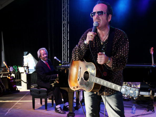 Allen Toussaint and Elvis Costello