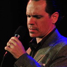 Kurt Elling performs with pianist Lawrence Hobgood.