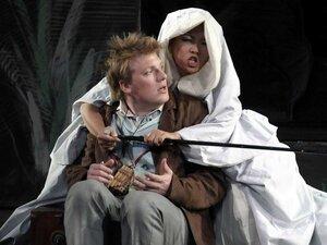 Daniel Schmutzhard and Sunhae Im in 'The Magic Flute'