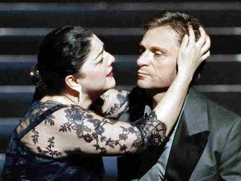 Tamar Iveri and Simon Keenlyside