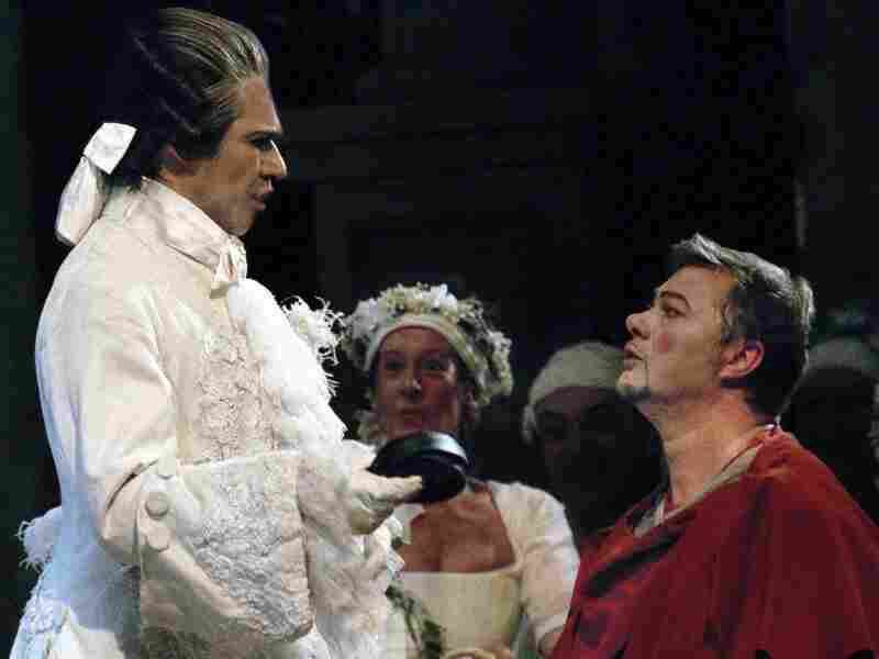 Ildebrando d'Arcangelo and Boaz Daniel
