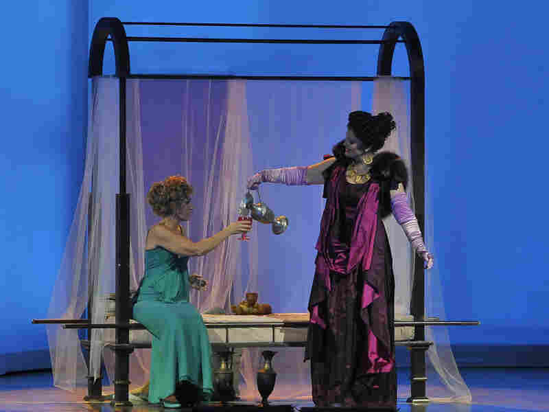 Veronica Cangemi and Ann Hallenberg in 'Agrippina'