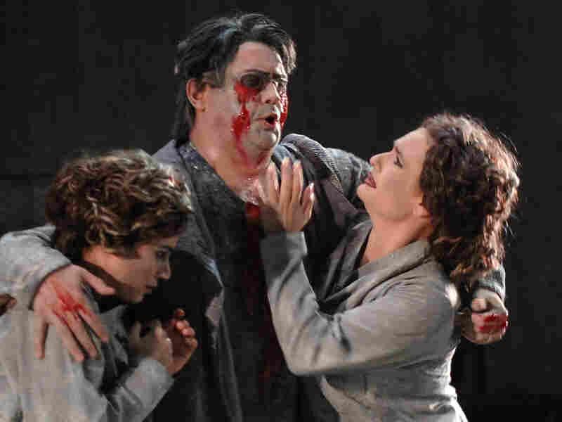 Baritone Franck Ferrari stars as Oedipus in Enesco's opera.