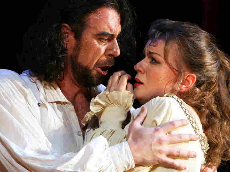 Carlos Alvarez and Lyubov Petrova in Verdi's Rigoletto