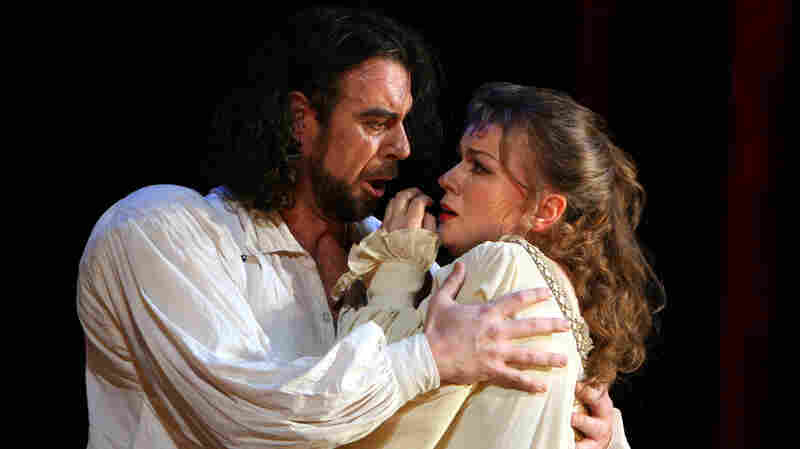 Carlos Alvarez and Lyubov Petrova in Verdi's Rigoletto