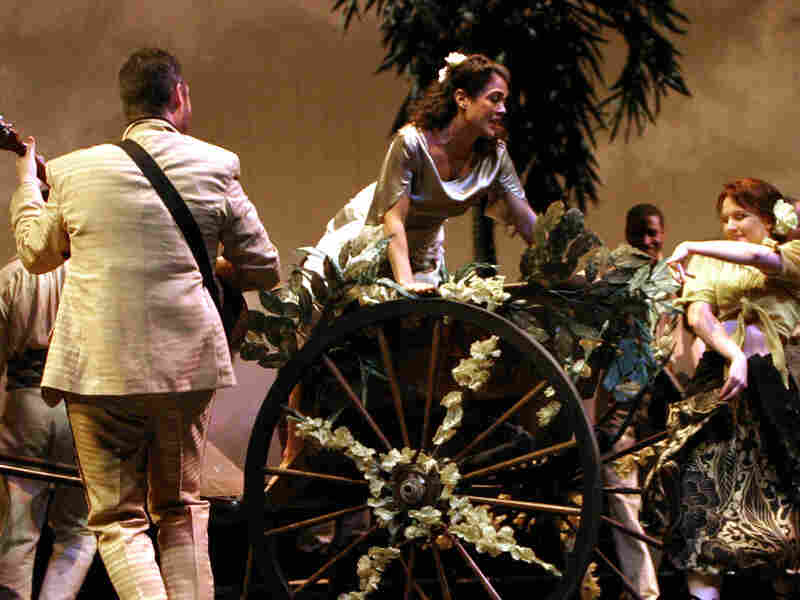 A scene from the Washington National Opera production of Don Giovanni