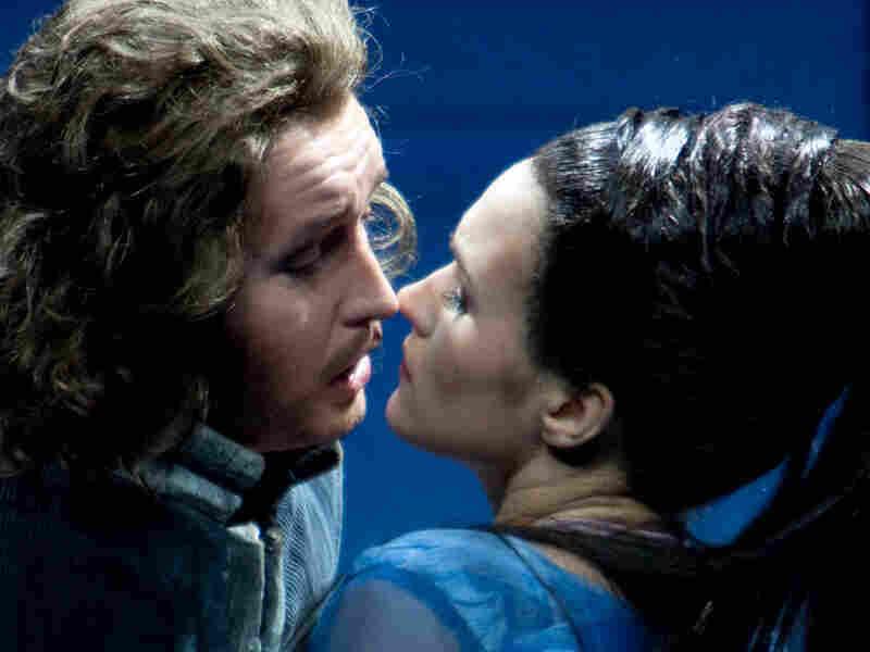 "John Osborn and Olga Peretyatko star in Rossini's ""Otello."""
