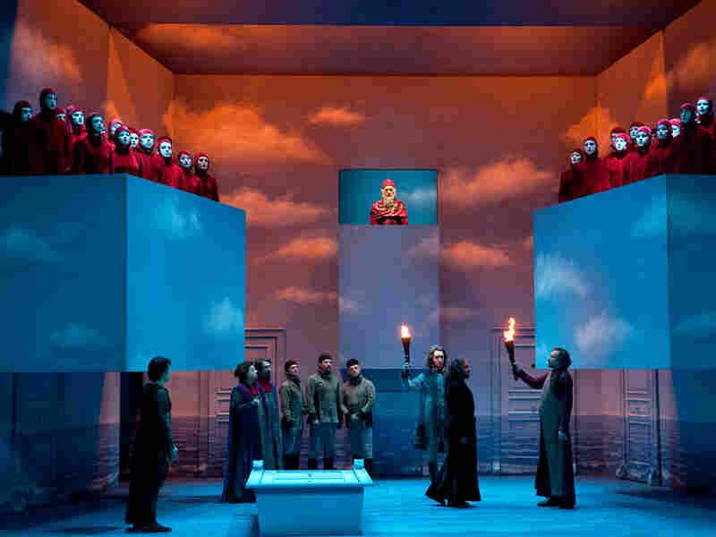 """The Lausanne Opera production of Rossini's """"Otello."""""""