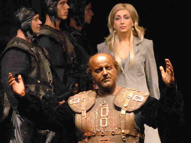 Franco Farina stars as the troubled governor in Verdi's Shakespearean-inspired 'Otello.'