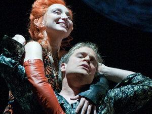 Marie-Claude Chappuis and Lawrence Zazzo in 'La Calisto.'