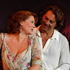 Tosca and Cavaradossi
