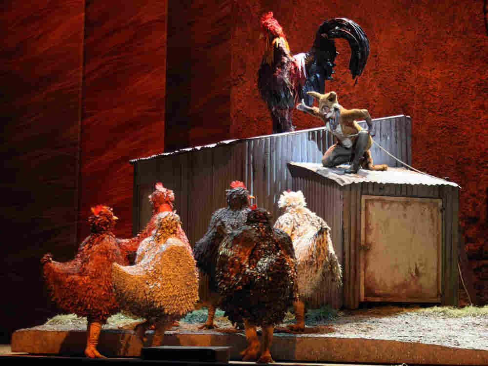 "Maggio Musicale's production of Janacek's ""Cunning Little Vixen."""