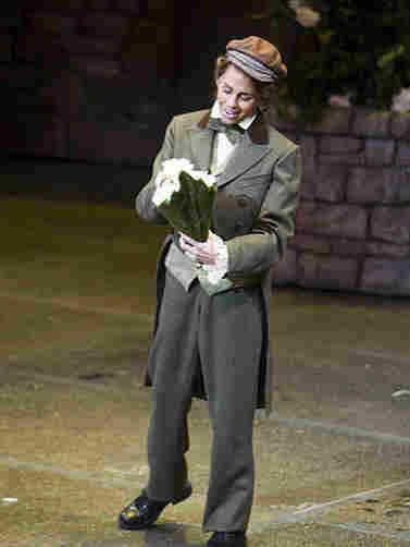 Siebel has flowers for Marguerite.