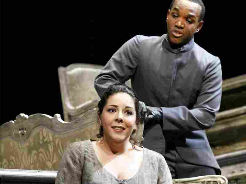 Cinderella (Kate Aldrich) and Prince Ramiro (Lawrence Brownlee)