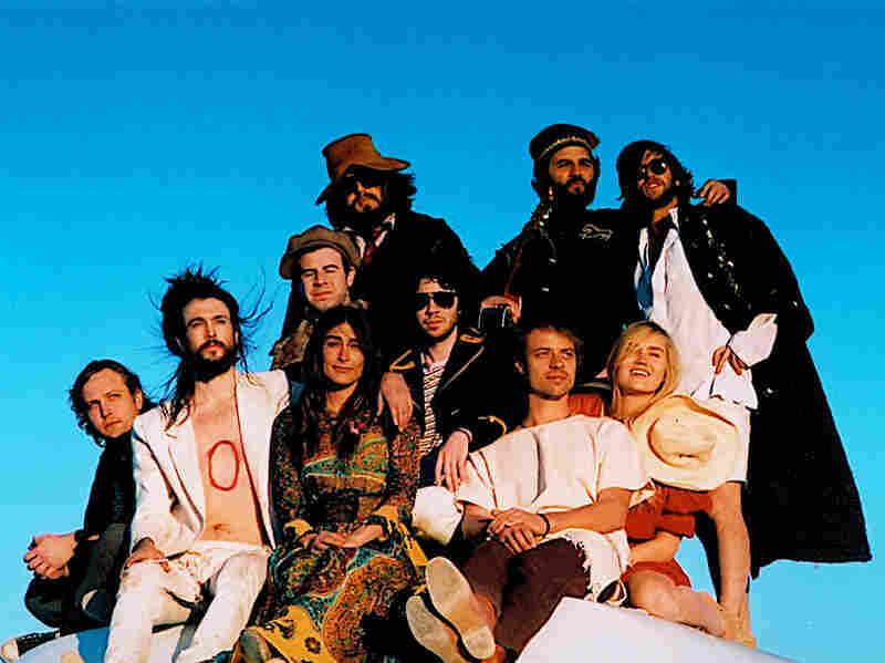 Edward Sharpe and the Magnetic Zeroes; Courtesy of the artist
