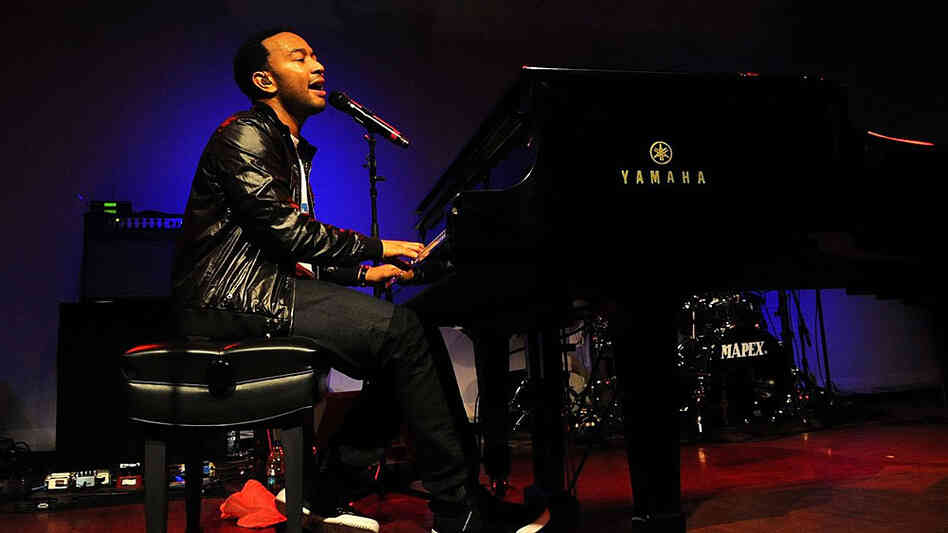 John Legend and The Roots; credit: Doug Seymour