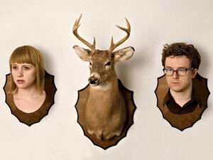 Wye Oak's Jenn Wasner and Andy Stack bash at each other with everything they have.