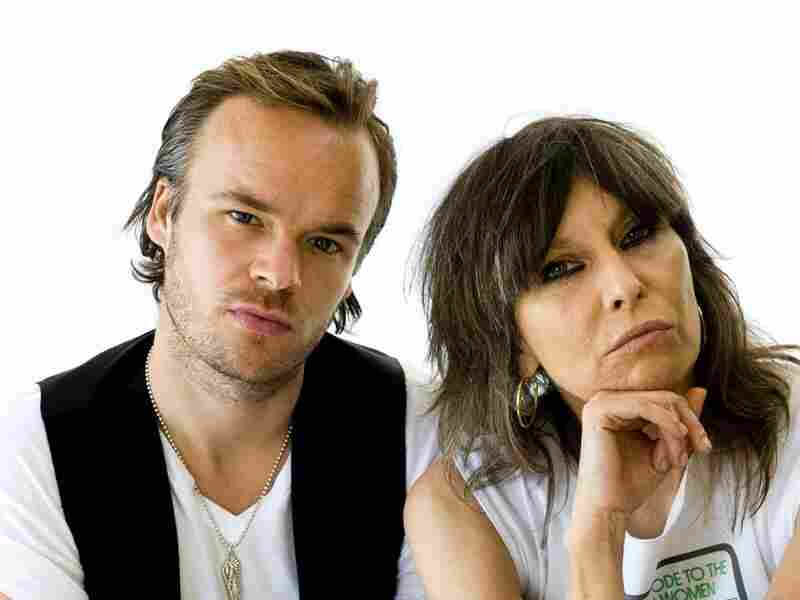 JP Jones and Chrissie Hynde of JP, Chrissie and the Fairground Boys