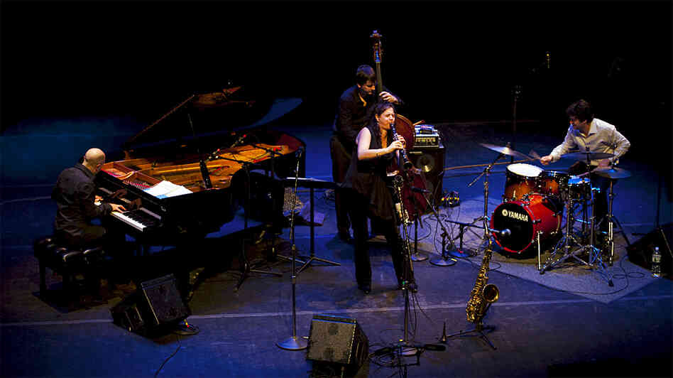The Anat Cohen Quartet wide