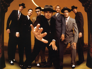 Big Bad Voodoo Daddy.