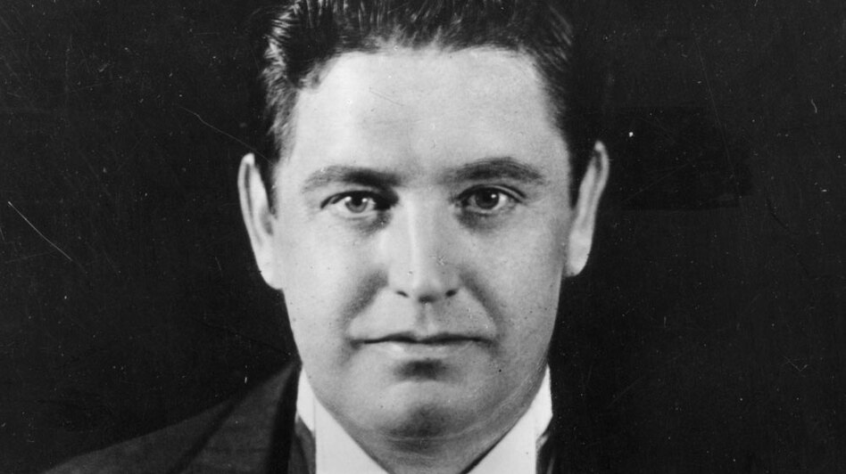 Irish tenor John McCormack.