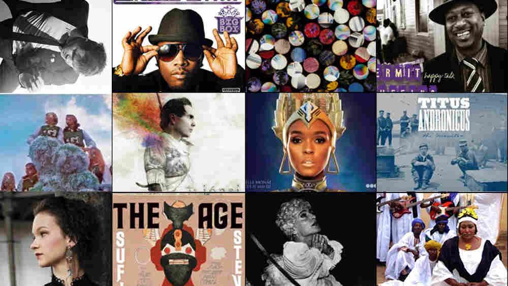 NPR Music's 50 Favorite Albums Of 2010