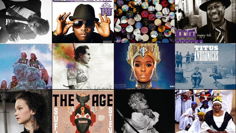 Andrea Echeverri: NPR Music's 50 Favorite Albums Of 2010 : NPR