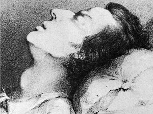 chopin death bed
